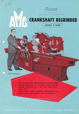 AMC - Crankshaft Regrinder (Model K 2000)
