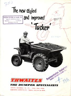 "Thwaites - The new styled and improved ""Tusker"""