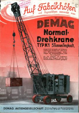 Demag - Normal-Drehkrane TYP K1