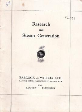 Research and Steam Generation
