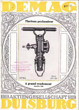 Marteau perforateur à grand rendement (modèle HK)