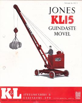 Jones KL 15 - Guindaste Móvel