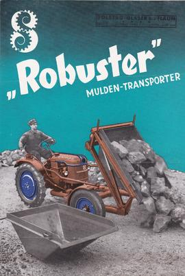 """Robuster"" Mulden-Transporter"